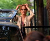 "UMA THURMAN ~ ""Motherhood"" Film Set in NY ~ 05/13 ~ 10 HQ"