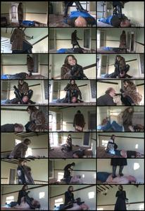 The Squatter Is Punished Female Domination