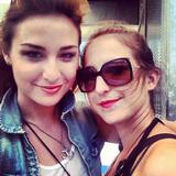 Allison Scagliotti - Pictures from Lollapalooza - August 2012