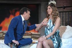 Мелисса Сатта, фото 360. Melissa Satta Chiambretti Sunday Show in Italy, 18.02.2012, foto 360
