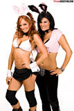 Christy Hemme And Traci Brooks TNA Knockout Bunny Shoot