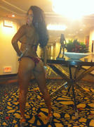 Vida Guerra at her first national competition