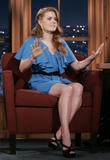Amy Adams shows legs - Craig Ferguson Show - March 3, 2009