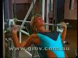 Cory Everson Hot Workout Video in Thong Bathing Suit